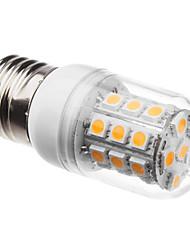 5W E26/E27 LED Mais-Birnen T 30 SMD 5050 200-300 lm Warmes Weiß AC 220-240 V
