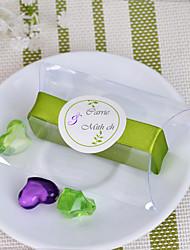 Pillow Pvc Caja Con La Cinta Verde (juego de 12)