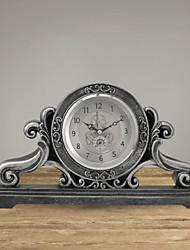 Retro Metal Table Clock
