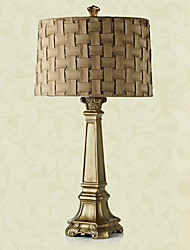 European Style Classic Table Lamp In Tower Body 220-240V