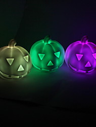 Wedding Décor Pumpkin Colorful Night Light-Set of 4