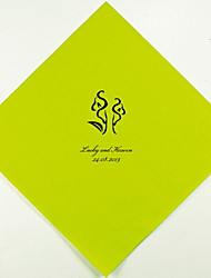 Personalized Wedding Napkins Calla Lily(More Colors)-Set of 100