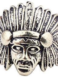 Vintage Indian Head Chefs Forefinger Ring afflux de personnes en Europe et en Amérique du Punk Hommes Femmes