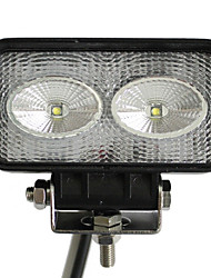 2 20W LED luz de trabajo Rectangle