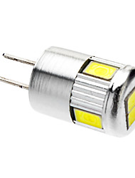 3W G4 Spot LED 6 SMD 5730 220-250 lm Blanc Froid AC 12 V