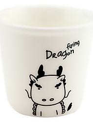 Dragon of 12 Chinese zodiac Ceramic Cup