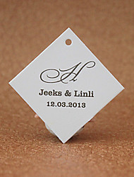 Personalized Favor Tags - Simple Designed(set of 30)