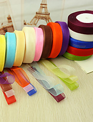 Solid Color Organza Ribbon--(More Colors)