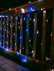 100 LED White Light Net 2m x 1,5 m Lumière de Noël solaire, Solar Light vacances (cis-57181)