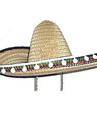 Trigo Cor Cônico enorme México Hat