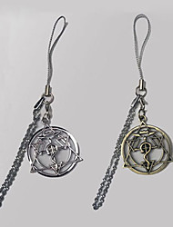 Jewelry Inspired by Fullmetal Alchemist Edward Elric Anime Cosplay Accessories Necklace Golden / Silver Alloy Male