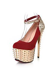 Gorgeous brillo del talón de estilete bombas de los tacones zapatos de fiesta Espumosos (más colores)