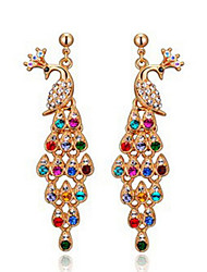 Delicate Alloy With Rhinestone Women's Earrings