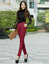 Women's Pants , Polyester Casual MISS Mary