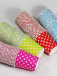 Polka Dot Paper Cups-Set of 25 (More Colors)