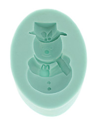 Snow Baby Shape Chocolate 3d Silicone Mould