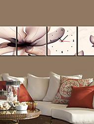 """12 """"-24"""" Country Style Orologio da parete in tela 4 pezzi"""