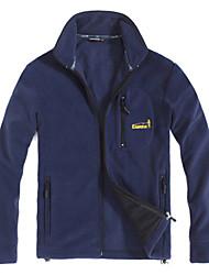 EAMKEVC Men's Fleece Jacket Static-free Windproof Anti-Fuzz Breathable