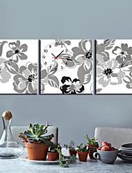 """12 """"-24"""" Country Style Orologio da parete in tela 3pcs"""