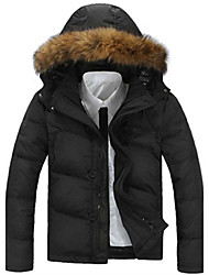 Men's Coats & Jackets , Feather/Others Casual MEIKEPAIM