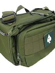 Outdoor Multi-functional Green Nylon Leisure Bag