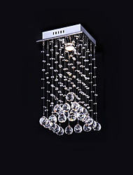 Max 50W Flush Mount ,  Modern/Contemporary Electroplated Feature for Crystal Metal Bedroom / Dining Room / Kitchen