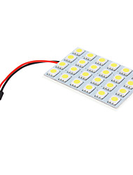 T10 BA9S 24x5050SMD Superintensität weiße LED Replacement Kit (12V)