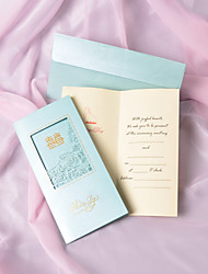 Personalized Asian Style Wedding Invitation(More Colors)-Set of 50