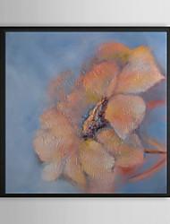 Pink Petal Floral Framed Oil Painting