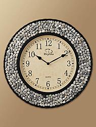 "15.7""H Modern Scree Style Wall Clock"
