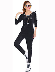 Women's Velvet Sheath Sport Set