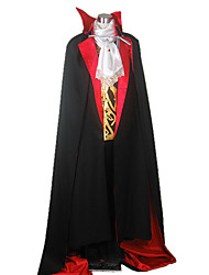 Costume de vampire démoniaque Black Castle Cape hommes