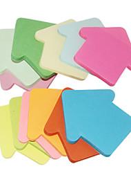 Arrowhead forme auto-Sticker Note (2 PCS couleur aléatoire)