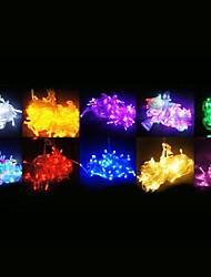 Luz de la decoración 10M 100-LED para la fiesta de Navidad del RGB Luz Cadena de luz LED con 8 modos de visualización (220)