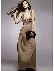 Women's Dresses , Silk Party Holiday Lady