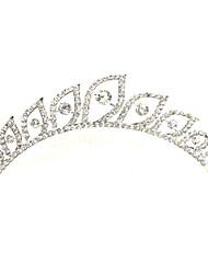 Women's Rhinestone/Alloy Headpiece - Wedding/Special Occasion Tiaras