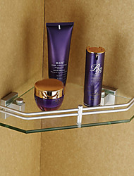 Contemporary Elegant Aluminum Bathroom Shelf
