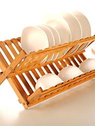"plegables estante para platos 18 de longitud """