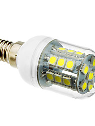 5W E14 LED Mais-Birnen T 27 SMD 5050 lm Kühles Weiß AC 220-240 V