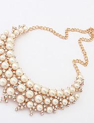 European Style Perle Choker Neacklace