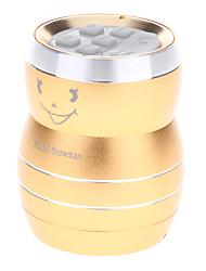 KOLEE Music Elf Calabash Design Mini Aluminium MP3 Speaker with TF Port/3.5mm Plug(Golden)
