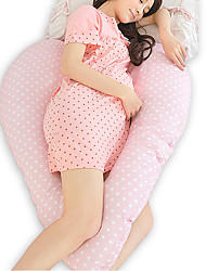 "42.5"" Heart-Shaped Cotton Pregnant Maternity Body Pillow"