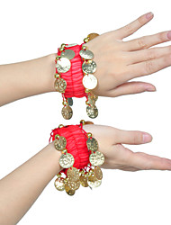 Performance Chiffon Belly Dance Twin Bracelets For Children(More Colors)