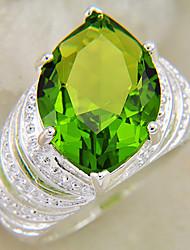 anel peridoto