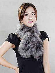 Scarves Faux Fur Black / Gray / Camel Party/Evening