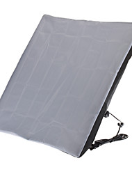 50 x 70 Single Light-Soft-Box mit EU-Standard-Stecker für Photo Studio (Black)