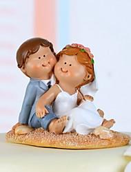 toppers gâteau doux amour mariée& marié de gâteau