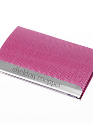 Gift Groomsman Personalized Pink Strip Pattern Cardcase
