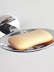 Soap Dish,Contemporary Oval Shape Stainless Steel Material ,Bathroom Accessory