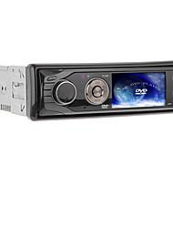 3-Zoll-TFT-Bildschirm 1DIN In-Dash-Auto-DVD-Player-Unterstützung USB / SD, FM - 330